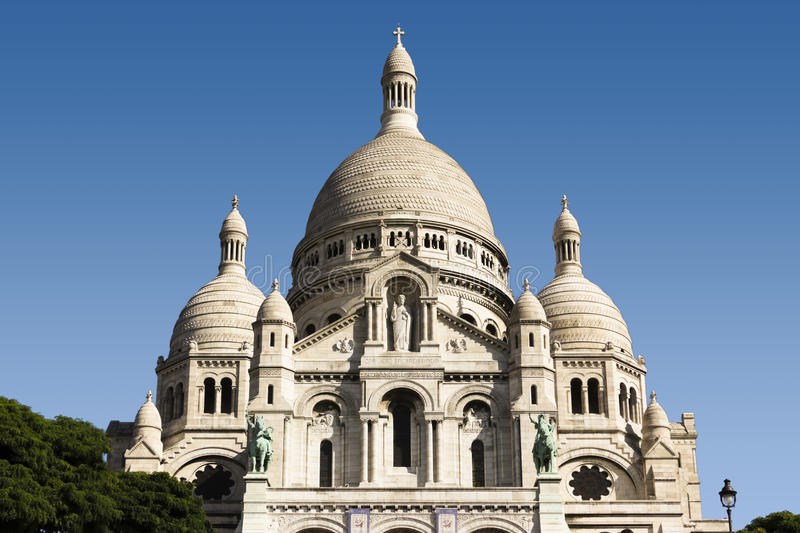 Download Sacre-Coeur stock photo. Image of basilique, color, france - 36603578