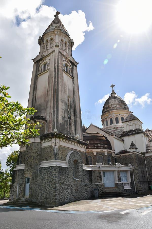 Sacre Coeur de Balata, Martinique, Fort-de-France stockfotos