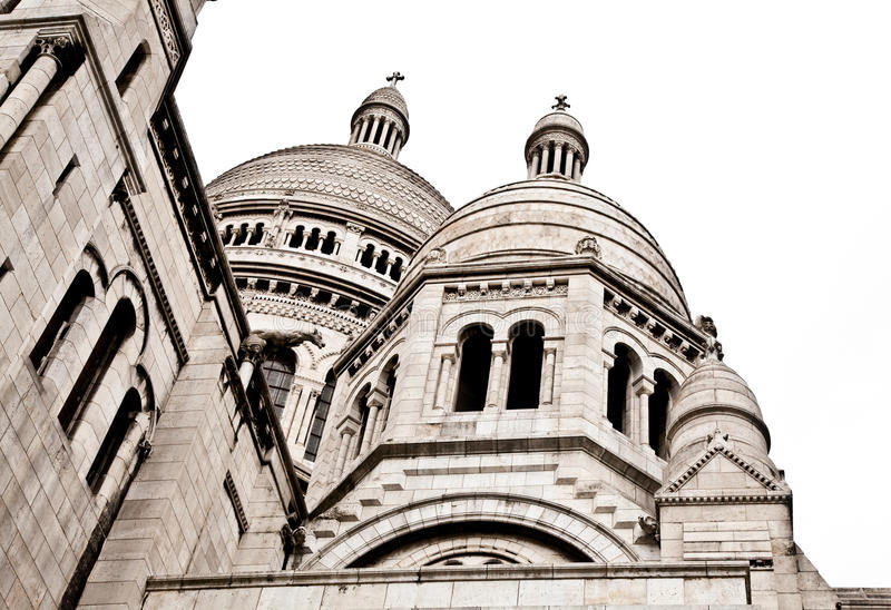 Download Sacre Coeur de Montmartre stock image. Image of cour - 24016111