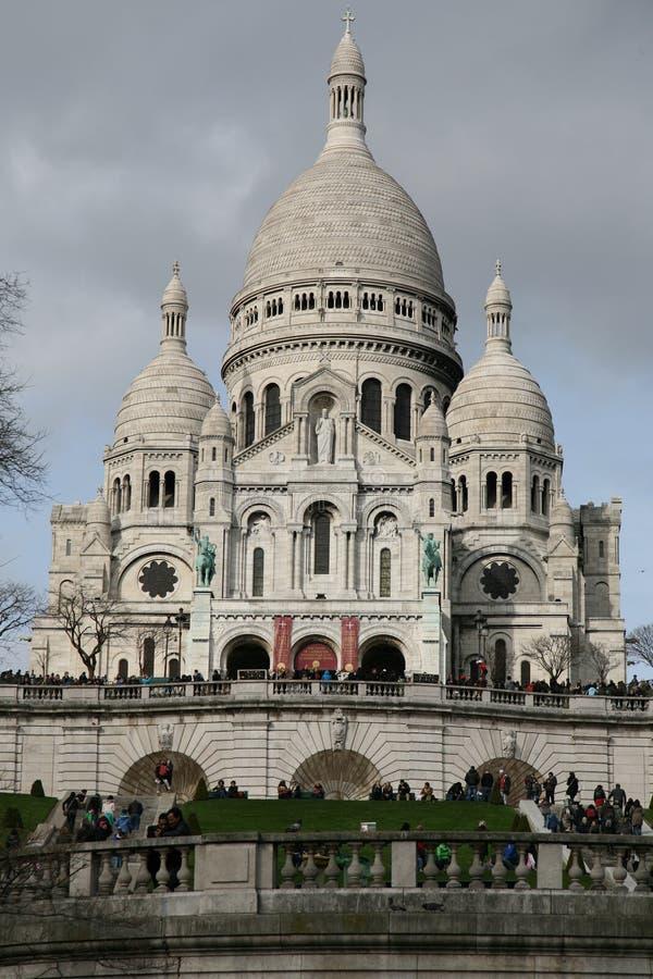 Sacre Coeur, France de Paris photos stock
