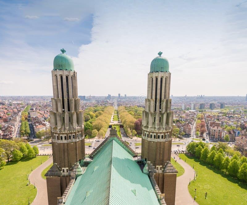Sacre Coeur katedra w Bruksela, Belgia zdjęcia stock
