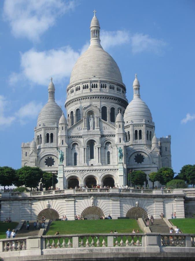 Sacre Coeur, Montmartre lizenzfreie stockfotografie