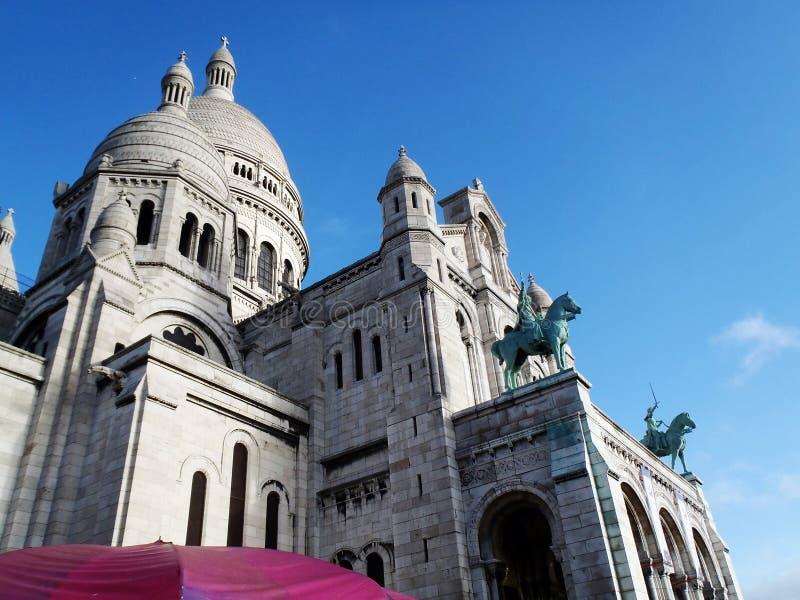 Sacre Coeur, Montmartre, Paryż, Francja fotografia royalty free