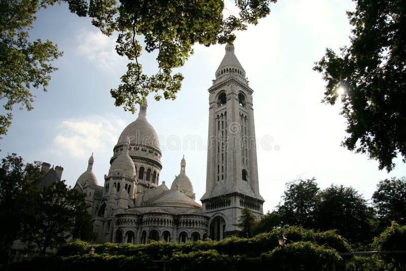 Sacre Coeur, París, Francia imágenes de archivo libres de regalías