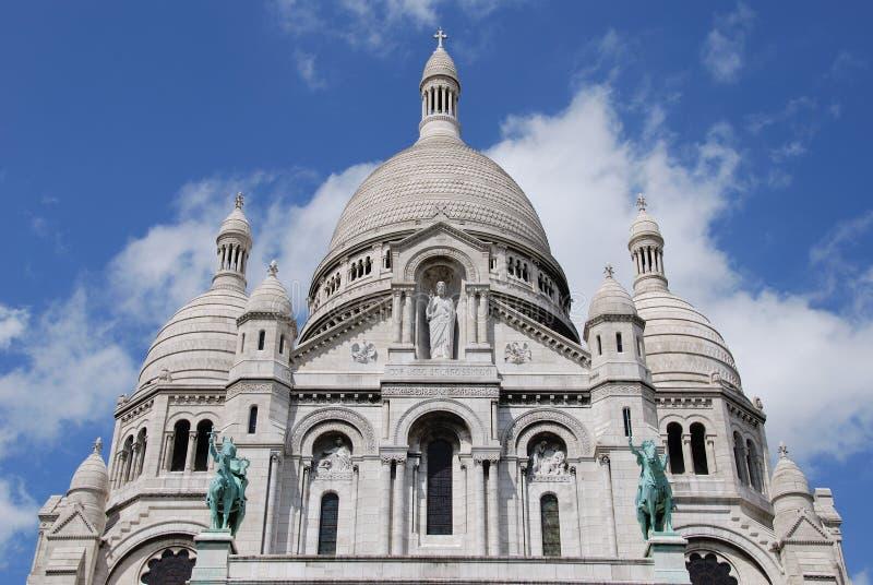 Sacre Coeur Parijs stock foto's