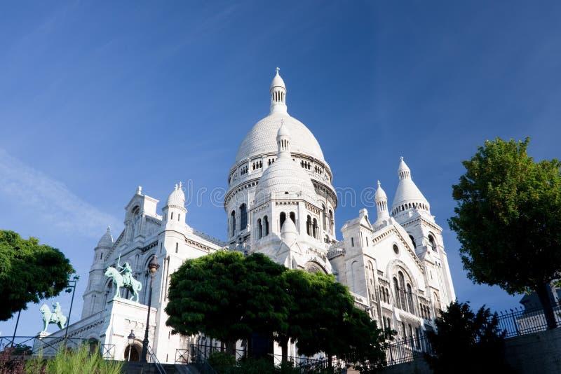 Sacre Coeur In Paris Stock Photos