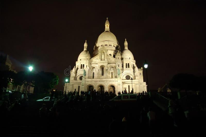 Sacre Coeur Paris stockbilder