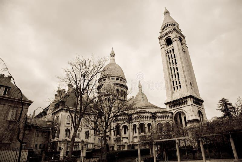 Sacre Coeur, Paris stock photography