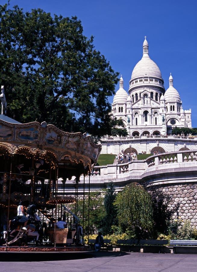 Sacre Coeur, Paris, France. images stock