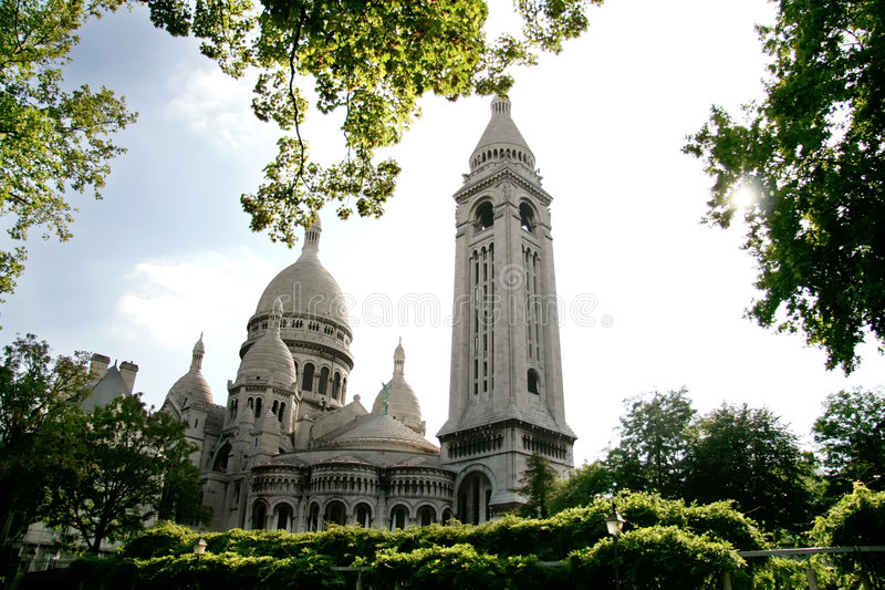 Sacre Coeur, Paris, France stock image