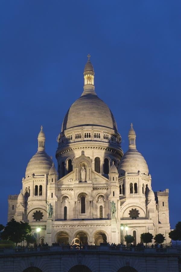 Sacre-couer cathecral à Paris photo libre de droits