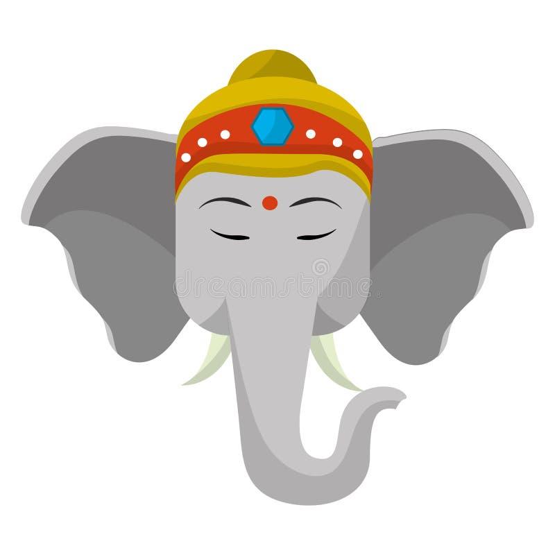 Sacred elephant india stock vector. Illustration of ...