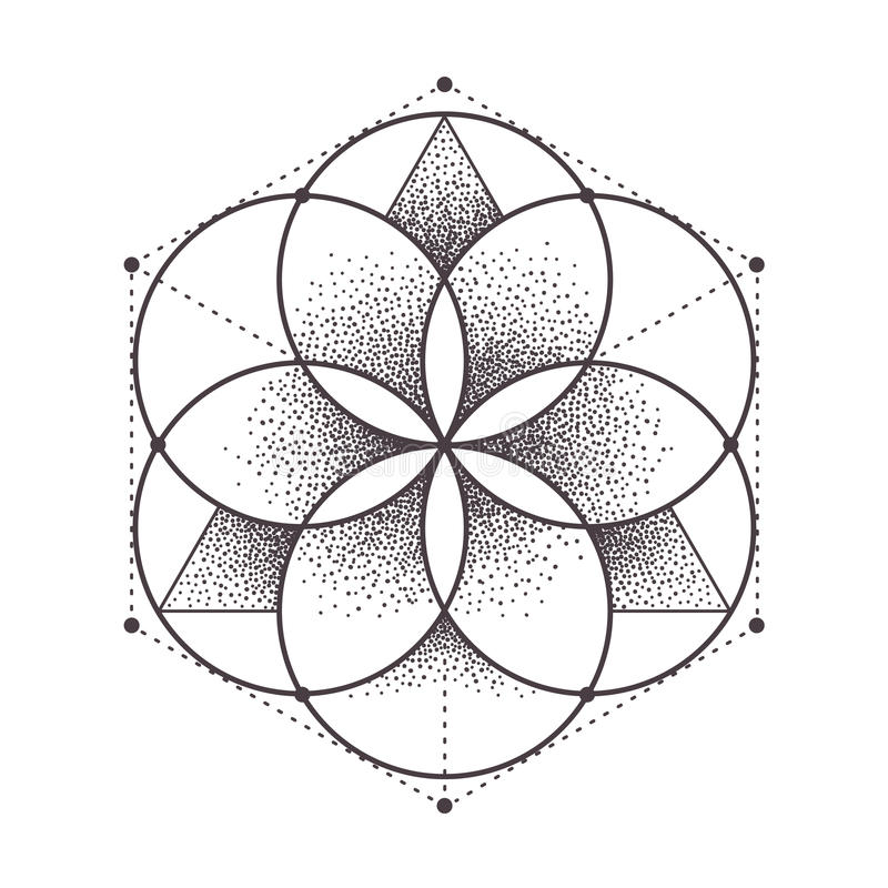 Sacred Geometry vector illustration