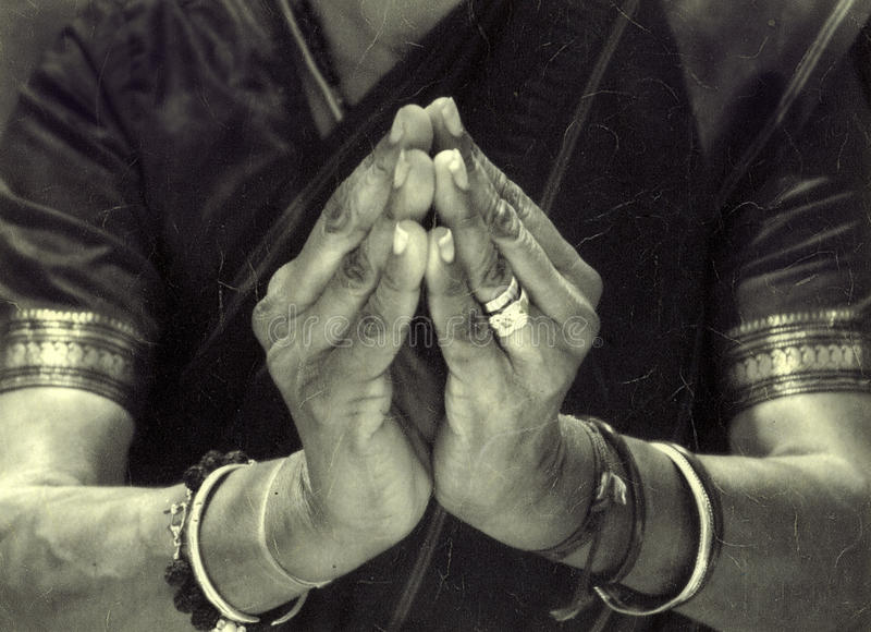 Sacred Hands stock photography