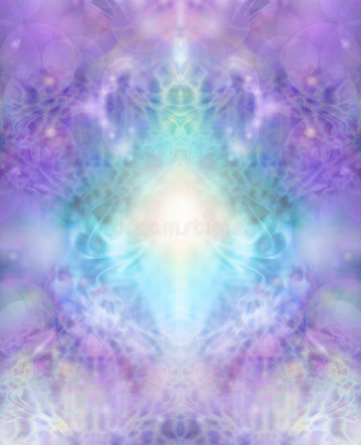Sacred healing background vector illustration