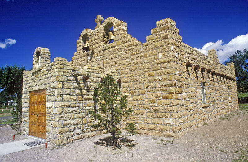 Download Sacred Heart Church And Mission, Quemado, NM Stock Image - Image: 52268909