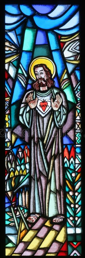 Sacred Heart of Jesus stock photography