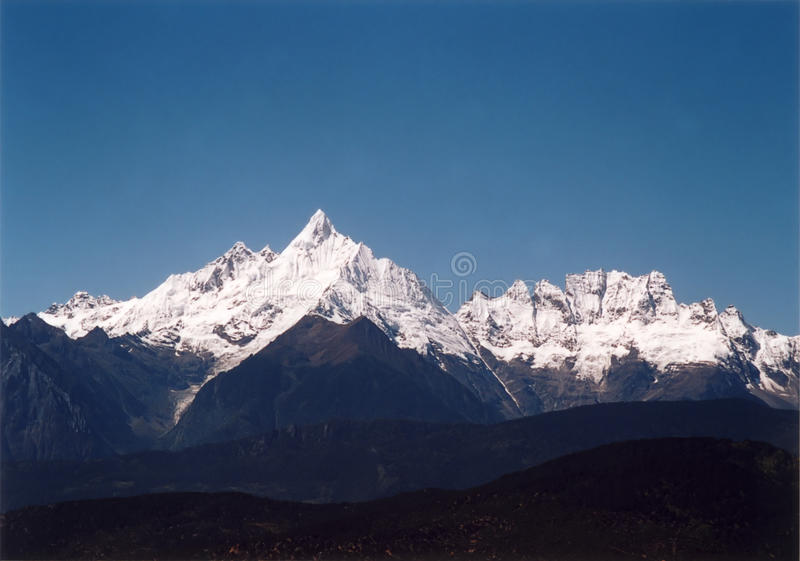 Sacred mountain royalty free stock photo