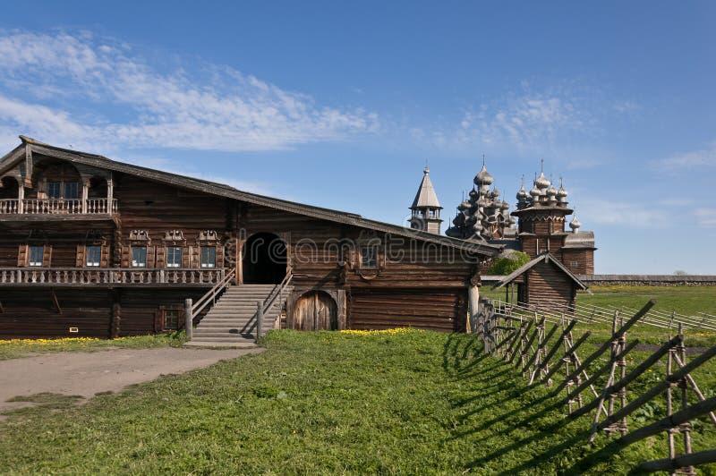 Sacred place. Beautiful Kizhi island royalty free stock image
