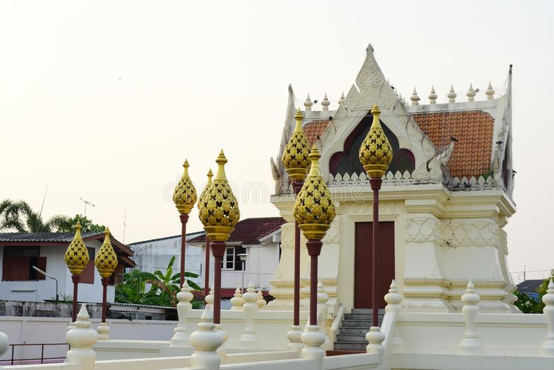 Sacred places for the people to worship. At Phanat Nikhom, Chonburi, Thailand royalty free stock images