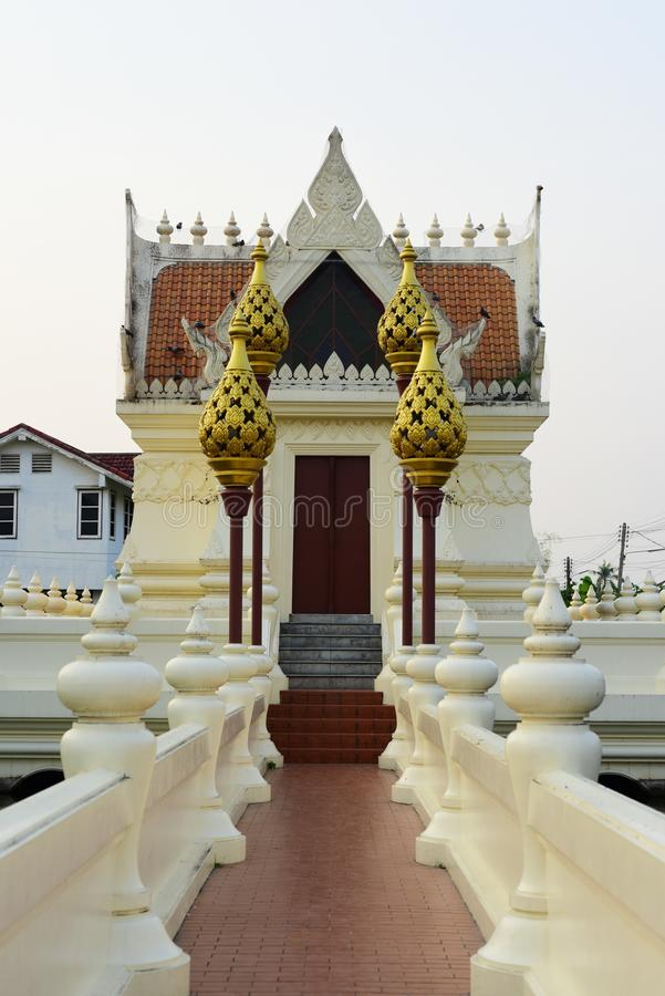 Sacred places for the people to worship. At Phanat Nikhom, Chonburi, Thailand royalty free stock photos