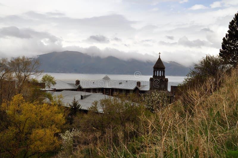 Sacred Sevan in Armenia royalty free stock images