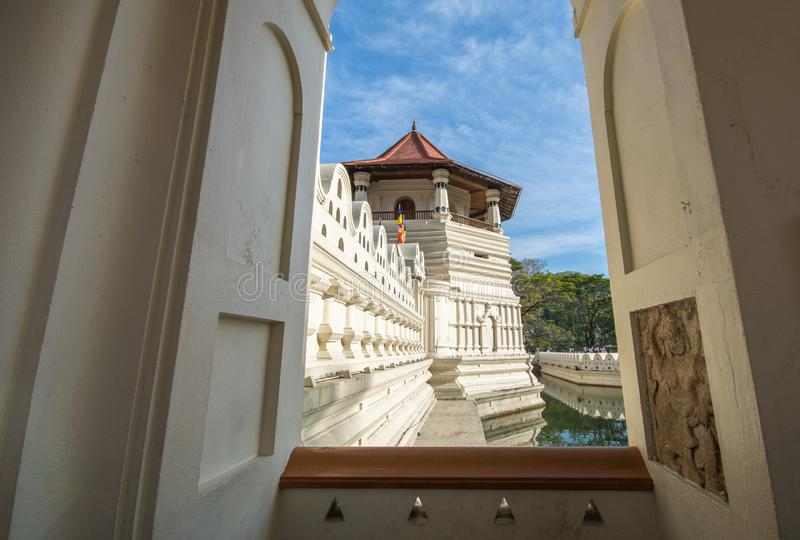 Sacred Tooth Relic is a Buddhist temple in the city of Kandy,. Sri Dalada Maligawa or the Temple of the Sacred Tooth Relic is a Buddhist temple in the city of stock photo