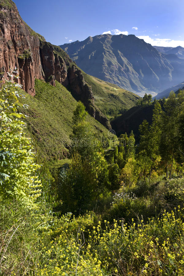 Sacred Valley of the Incas - Peru royalty free stock images