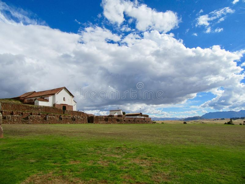 Sacred Valley of Incas royalty free stock photos