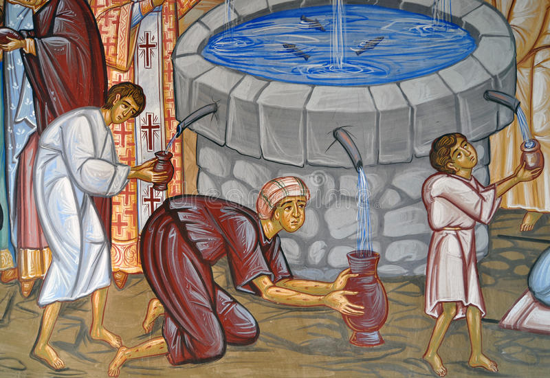 Sacred Water Royalty Free Stock Photography