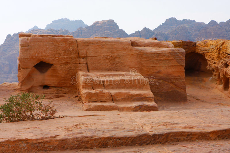 Sacrifice place in ancient Petra,