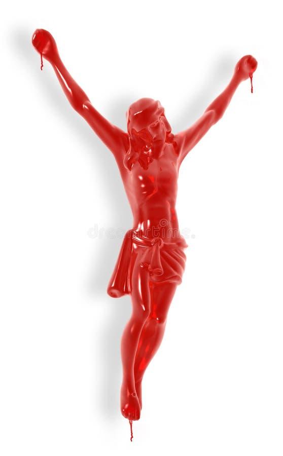 Sacrificio de Jesús. imágenes de archivo libres de regalías