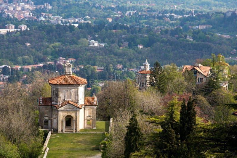 Varese Italien sacro monte av varese italien fotografering för bildbyråer bild