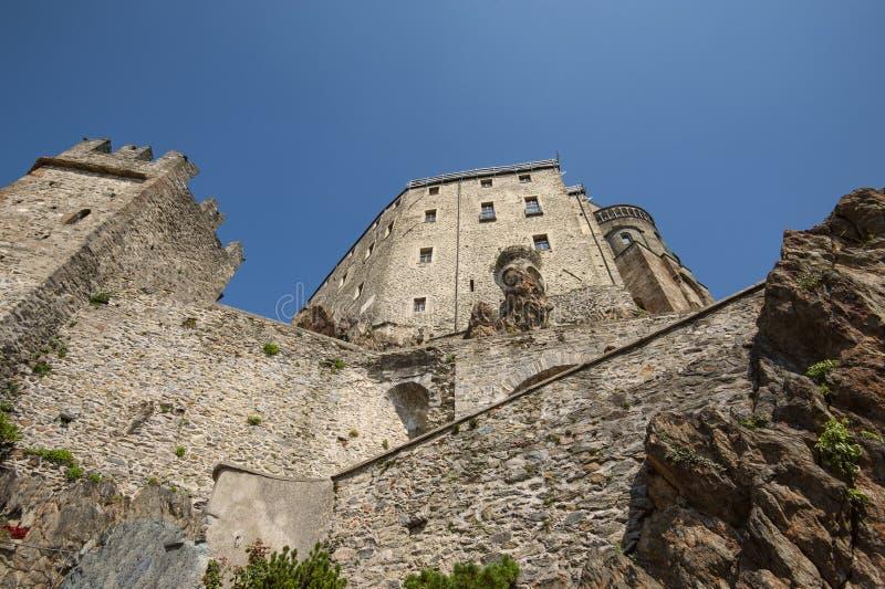 Sacros italianos do monastério de St Michel Pedmont imagens de stock royalty free