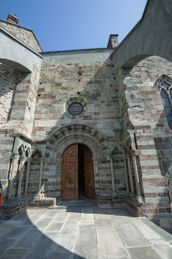 Sacros italianos do monast?rio de St Michel Pedmont imagem de stock royalty free