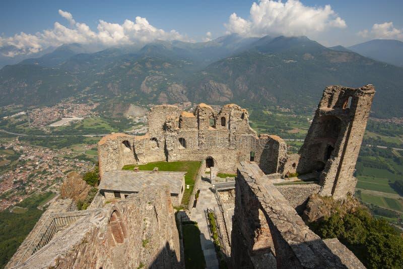Sacros italianos do monast?rio de St Michel Pedmont foto de stock royalty free