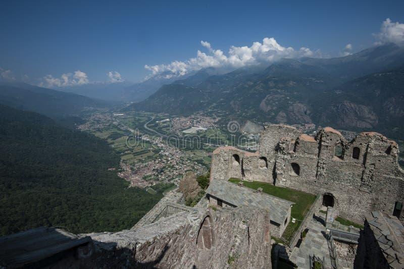 Sacros italianos do monast?rio de St Michel Pedmont imagens de stock