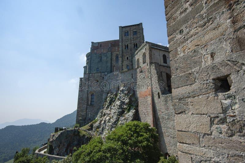 Sacros italianos do monast?rio de St Michel Pedmont imagem de stock