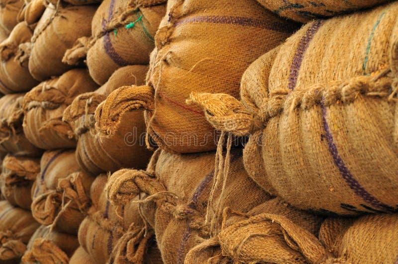 Sacs à blé photos stock