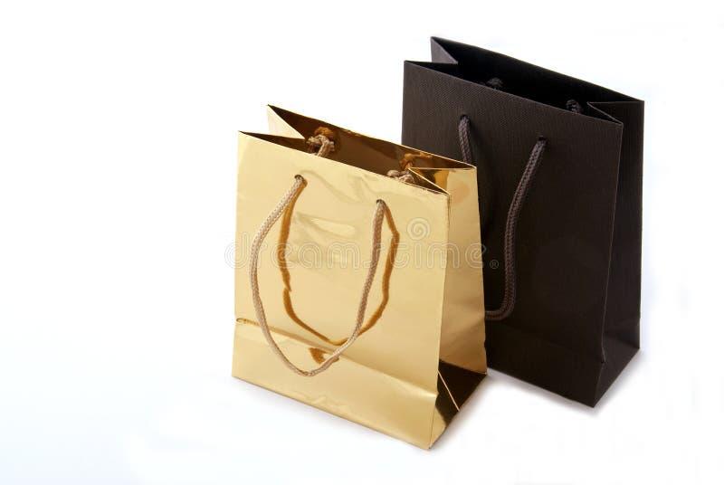 Sacs à provisions de luxe images libres de droits