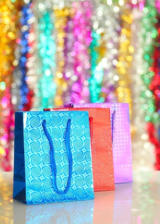 Sacs de cadeau images stock