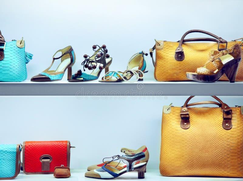 Sacs et chaussures photo libre de droits