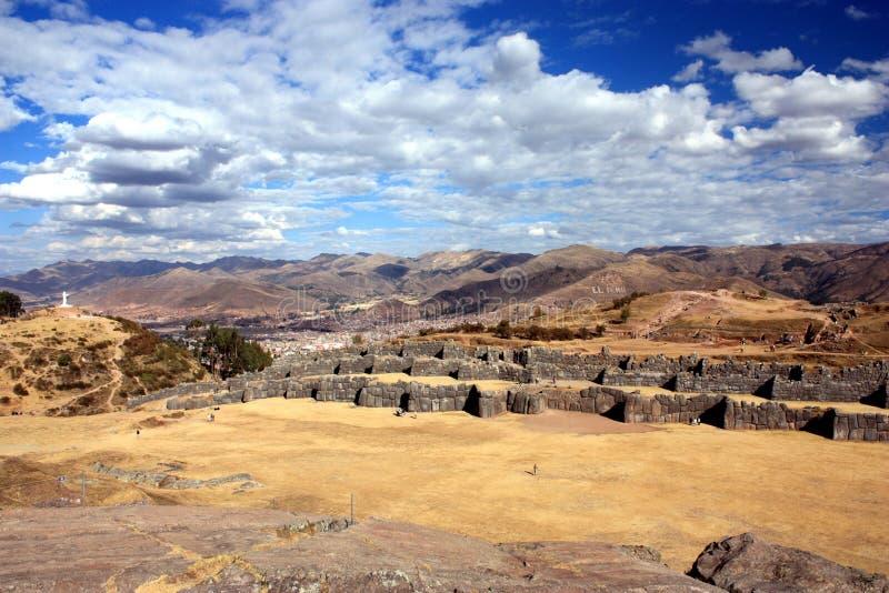 Sacsayhuamán foto de archivo