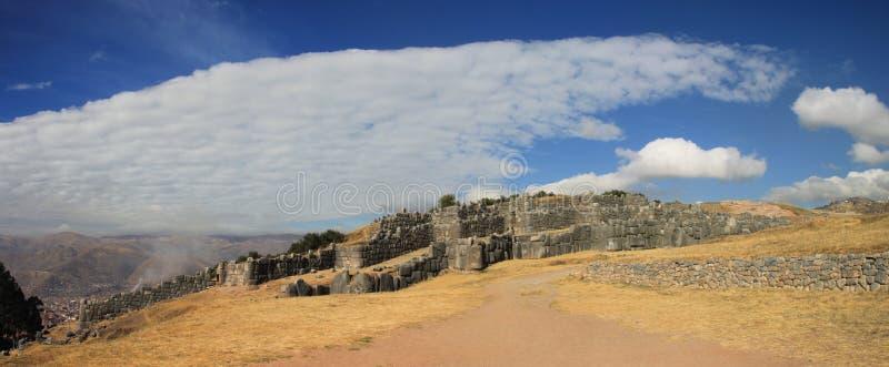 sacsayhuaman的cusco 免版税库存照片
