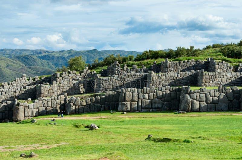 Sacsayhuaman σε Cusco, Περού στοκ φωτογραφία με δικαίωμα ελεύθερης χρήσης