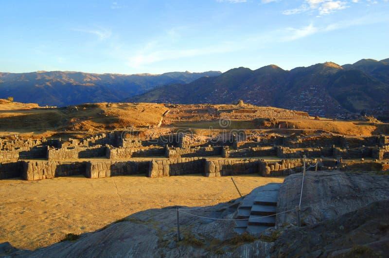 Sacsayhuaman fotografía de archivo