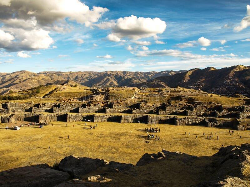 Sacsayhuaman images libres de droits