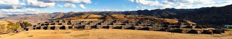 Sacsayhuaman arkivbilder