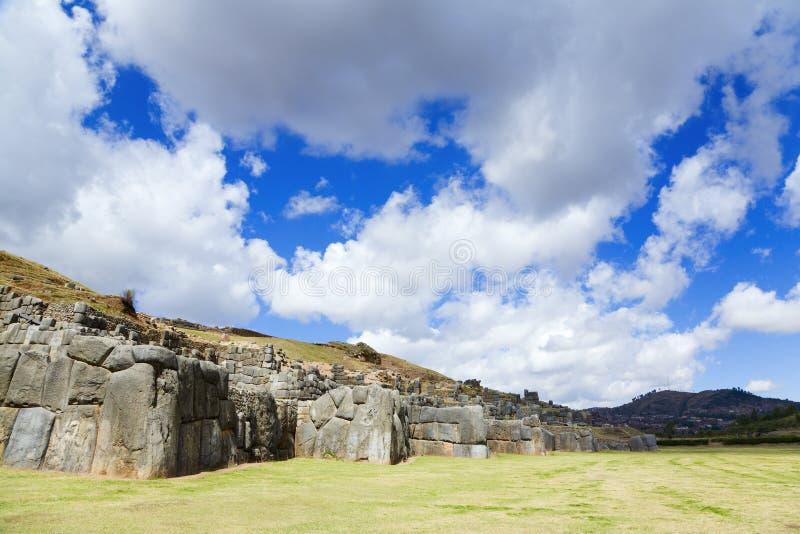 sacsayhuaman photos stock