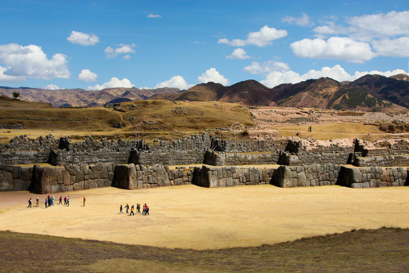 Sacsayhuaman Cusco royalty-vrije stock fotografie